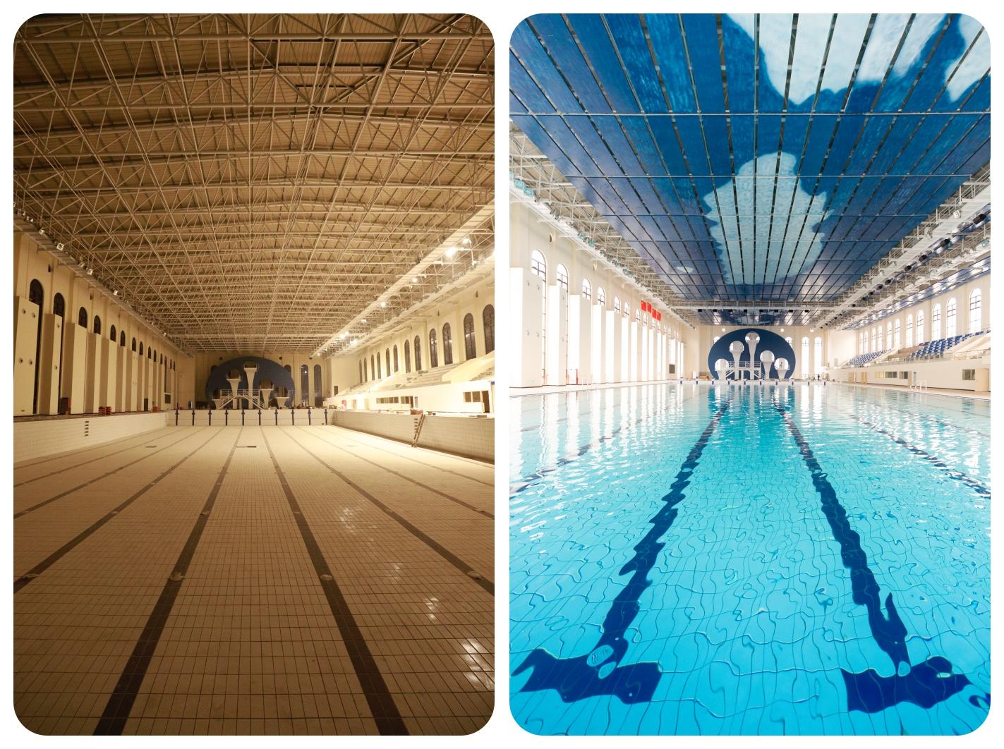 建造中的游泳馆及最终效果.jpg